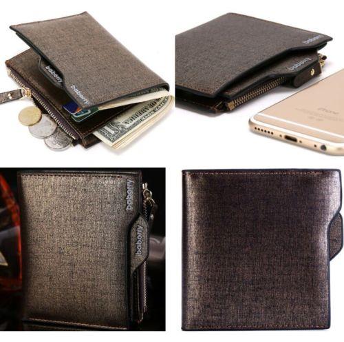2018 HOT Men Wallet Coin Purse credit Card holders Clutch Bifold Pocket Billfold