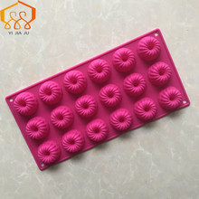 18 Even Silicone Round Mousse Cake Mold Baking Pan Mini Pudding Jelly Mould Tool Hot Sale