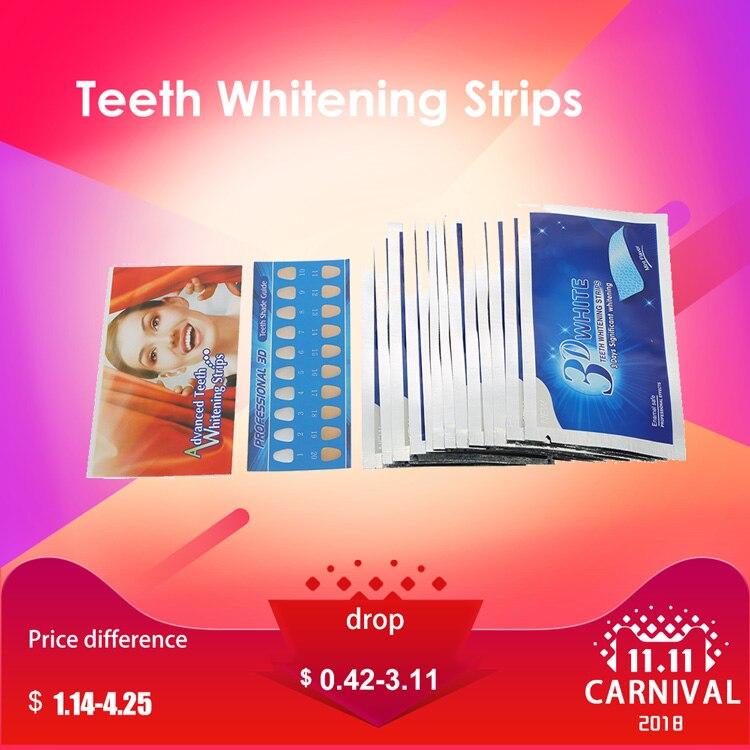 Teeth Whitening 1pair 3d Bamboo Charcoal Teeth Whitening Strips Tooth Veneers Dental Oral Hygiene Health Care Tools Bleaching Oral Care