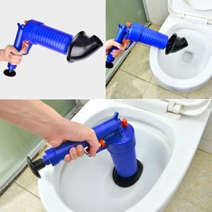 Image 4 - VOZRO Home High Pressure Air Drain Blaster Pump Plunger Sink Pipe Clog Toilets Bathroom Kitchen Cleaner Kit Cucina Suction Cup