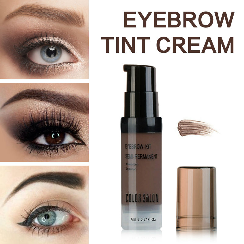 Color Salon Naked Shade For Eyebrow Gel 7ml Waterproof Long-lasting Tint Natural Eye Brow Enhancer Pomade Makeup Cream Cosmetic