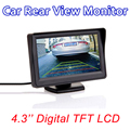 """4.3 """"TFT Lcd Monitor en Color de Pantalla Digital de ALTA DEFINICIÓN 4.3 Pulgadas PAL/NTSC De Opinión Posterior Del Coche Inversa cámara"""