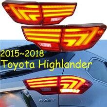 Highlander taillight,2015 ~ 2018 LED,RAV4,Innova,highlander tylne światło; Akcesoria samochodowe, highlander światło przeciwmgielne