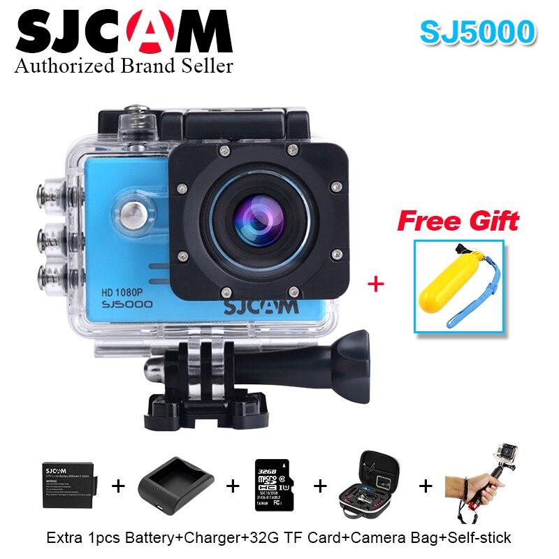 100% original serie sj sjcam 5000 cámara de acción 1080 p completo HD DV Imperme