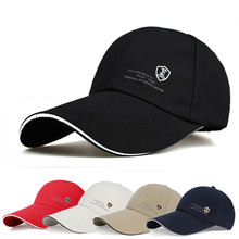 129e02f82fb 2018 Unisex Sports Cap Men Women Casual Cap For Fishing Outdoor Baseball  Cap Long Visor Summer Mesh Dad Hat Sunshade Hat Cap
