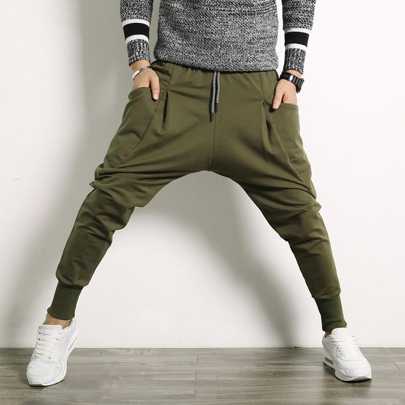 2017 Herbst Mode Männer Casual Hosen, Der Trend Der Große Größe Männer Hip-hop Stil Harlan Hosen, Herren Durchführen Hosen Gute QualitäT