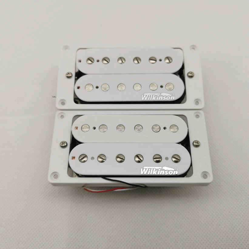 Wilkinson WVH Alnico5 manyetikler Humbucker Eleciric gitar manyetikler 4C beyaz 1 set