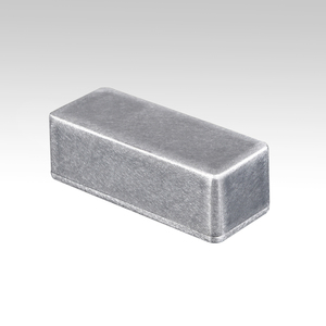 10 X New 1590A Aluminum Metal Stomp Box Case Enclosure for Guitar Effect Pedal(China)