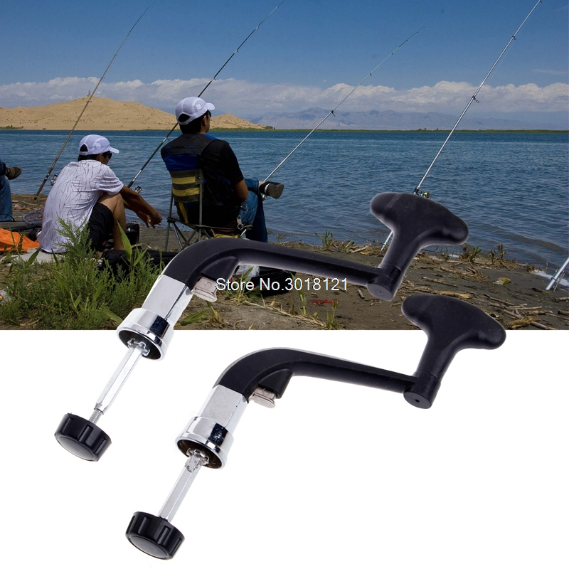 Rotatable Knob Power Handle Grip Arm For Fishing Spinning Reel Gear Tackle Tool ROU