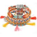 2016 бразильский браслет ipanema ручной красочные браслет Чешские манжетой bracalets bijoux boho Браслет femme