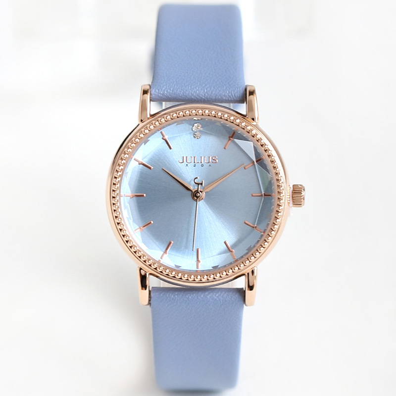 New Julius Lady Women's Watch Japan Quartz Fine Fashion Hours Clock Dress Bracelet Leather School Girl Birthday Gift Box lady women s watch japan quartz hours best fashion dress bracelet leather elegant valentine girl birthday gift julius box 905