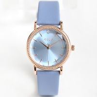 New Julius Lady Women's Watch Japan Quartz Fine Fashion Hours Clock Dress Bracelet Leather School Girl Birthday Gift Box