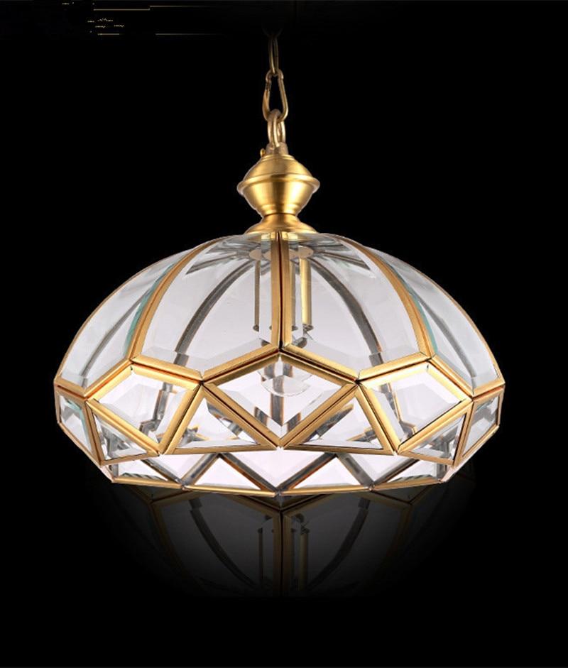 Rocamar Copper And Glass Single Pendant: ᗜ LjഃModern Kitchen Light Pendant Lamp 웃 유 Umbrella