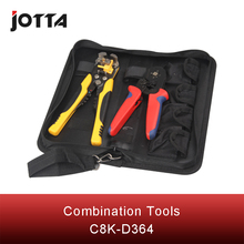 C8K-D364 mini combination tool includes one piece WXC86-4A terminal crimping pliers and  WX-D2 cable stripper