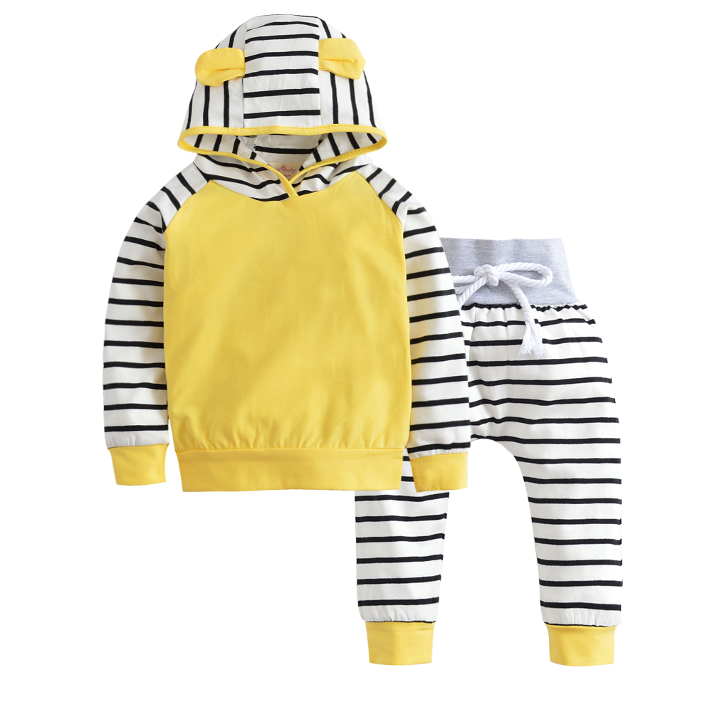 US Baby Girls Hooded Tops Sweatshirt Camo Pants Outfits Newborn Autumn Clothes