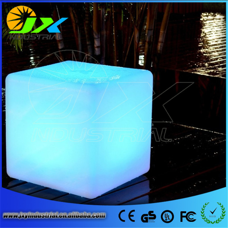 LED Bar Furniture Flashing Chair Light LED Bar Stool Cube Glowing Tree Stool Light up Bar Chairs Free shipping continental bar chairs rotating chair lift back bar stool reception tall silver beauty makeup chair page 3
