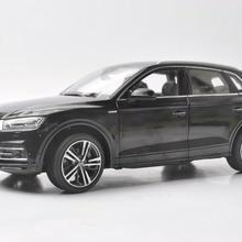 1:18 литья под давлением модель для Audi Q5L Q5 черный Внедорожник сплав игрушечный автомобиль миниатюрная коллекция подарки