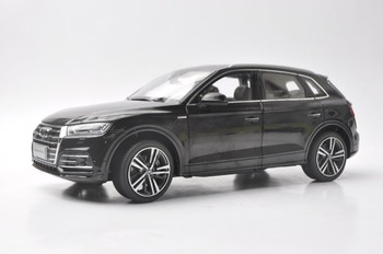1:18 Diecast Model for Audi Q5L Q5 2018 Black SUV Alloy Toy Car Miniature Collection Gifts image