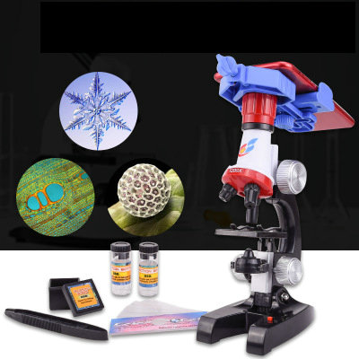 1200 times childrens science and biology microscope set Science experiment teaching aids diy early education educational toys1200 times childrens science and biology microscope set Science experiment teaching aids diy early education educational toys