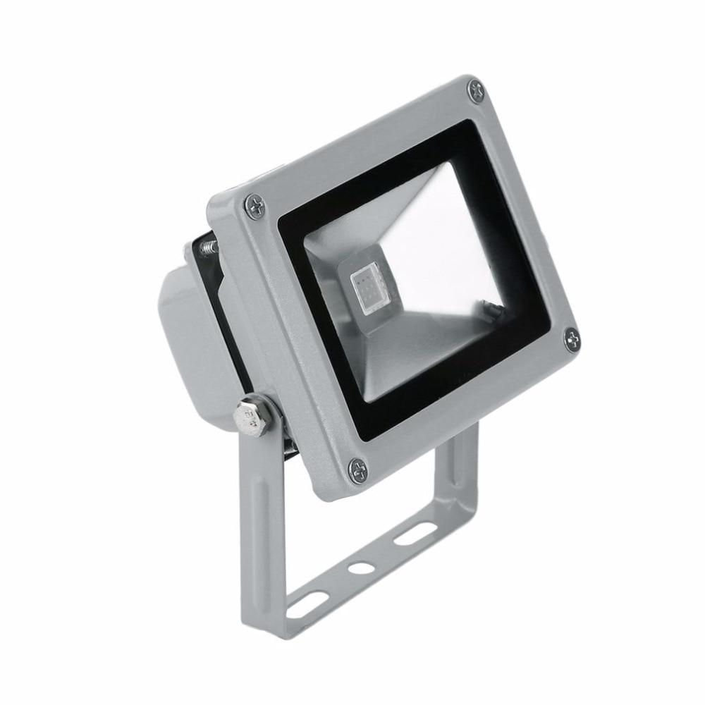 Waterproof 10W 85-265V IP65 US Plug RGB Lighting Led Flood Light Outdoor Spotlight Floodlight Wall Reflector Garden spotlight