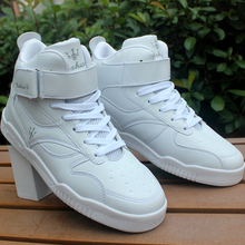 Autumn new arrival tidal current male high skateboarding shoes boys shoes elevator shoes thickening high men's
