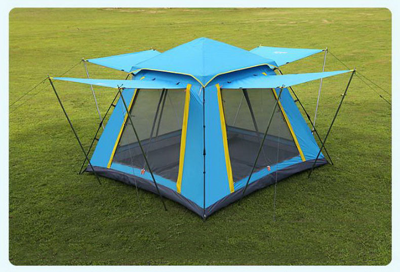 Aliexpress.com  Buy outdoor tent 3 4 people Fully automatic wild Sunscreen Beach C&ing family 360 degree panoramic view Sunscreen Tent/tb111003 from ... & Aliexpress.com : Buy outdoor tent 3 4 people Fully automatic wild ...
