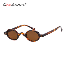 Good Win Brand 2019 Retro Vintage Oval Sunglasses Women Small Fashion Men Sun Glasses Female Shades Oculos De Sol UV400