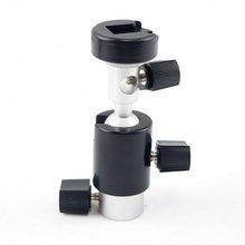 Tripod Flash-Umbrella-Holder Camera Hot-Shoe-Stand-Bracket Wholesale Black Swivel 360-Degree