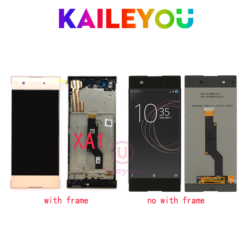 high qualityAAA For Sony Xperia XA1 G3116 G3121 G3123 G3125 G3112 LCD Display Touch Screen Digitizer Assembly For SONY XA1 LCD