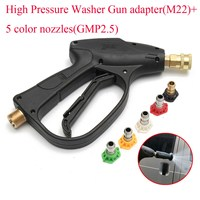 1 X High Pressure Washer Adapter Water Washer 5 Color Nozzles GMP2 5