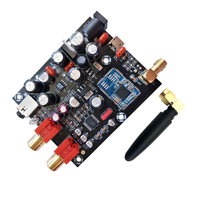 Image 5 - CSR8675 Bluetooth 5.0Receiver Board PCM5102A I2S DAC Decoder Board APTX HD Wireless Audio Module Support 24BIT With Antenna-in Amplifier from Consumer Electronics