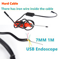Android Phone Micro USB Endoscope Camera 7mm Lens 6LED Portable OTG USB Endoscope 2M USB Android Phone Borescope