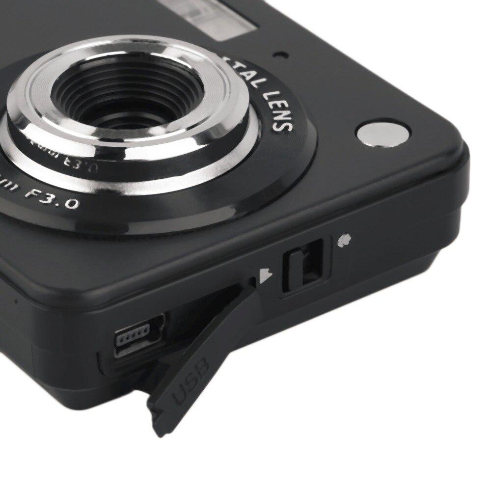 Caméra numérique HD TF carte JPEG AVI CMOS Senor 2.7 ''TFT LCD HD 720 P 18MP caméscope numérique caméra 8x Zoom Anti-secousse Mini caméra - 3