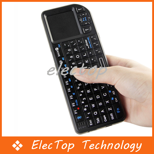 Mini Wireless Bluetooth Keyboard Mouse Touchpad Presenter 50pcs/lot Wholesale