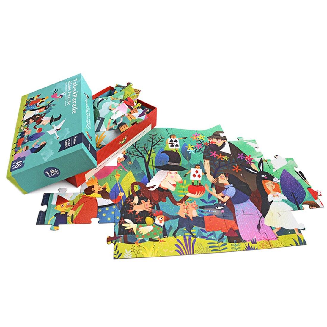 Enfants Éducatifs Puzzle Jeu Jouets Chunky Jigsaw Apprentissage Éducatif Puzzle Jouet Puzzle De Sol pour Enfants Enfants Braining Cadeau