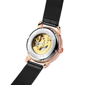 Image 5 - Relojes Hombre 2019 Thiết Kế Mới ORKINA Đồng Hồ Cơ Dây Da Tự Động/Dây Lưới Thép Không Gỉ Đồng Hồ Relogio Masculino