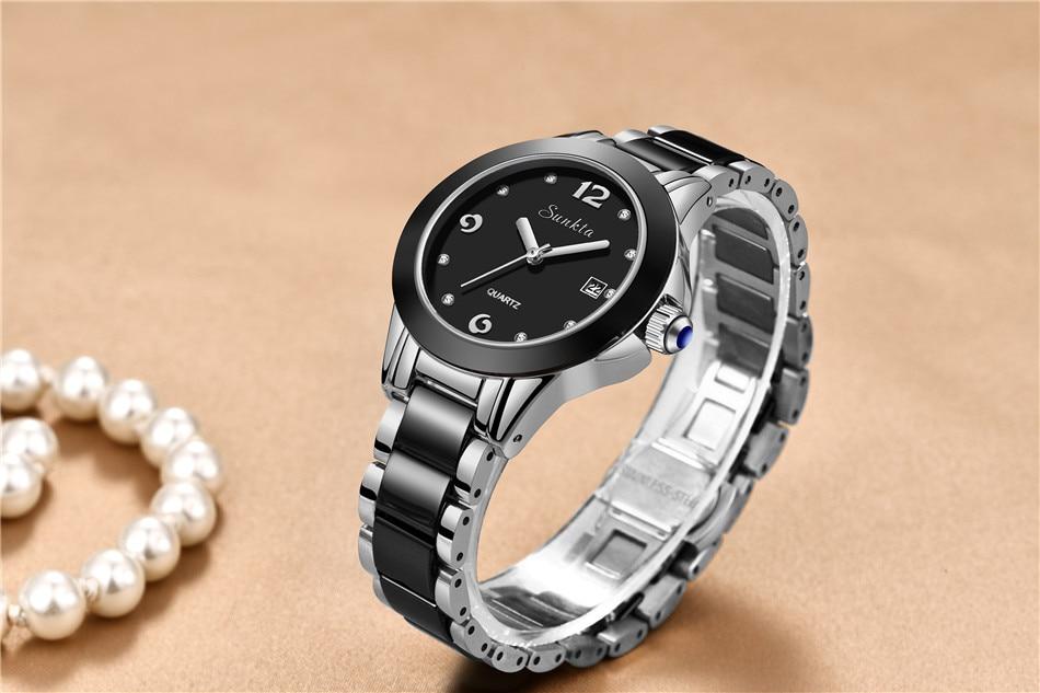 senhoras boutique pulseira relógio reloj de dama