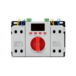 Inteligentny wyświetlacz LED podwójna moc automatyczny przełącznik transferu ats 16 63A 2P podwójna moc automatyczny przełącznik przełączający CJQ1Z 63/2 P w Przełączniki od Lampy i oświetlenie na