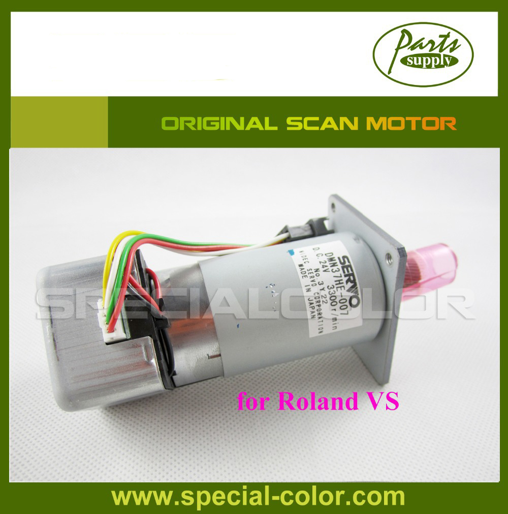 Roland Scan Motor For Roland VS640 Original (made in Japan) original roland scan servo y motor for sj 1045ex printer parts roland sj 1045ex sj 1000 roland xc 540 xc 540w roland xj 640