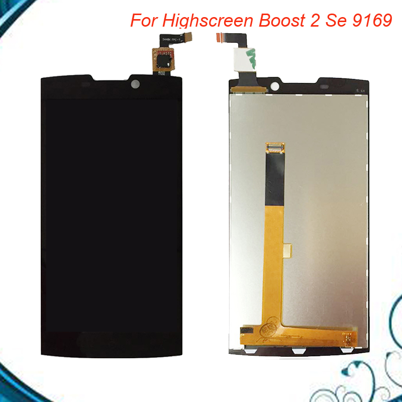 100% Tested OK For Highscreen Boost 2 se boost II se 9169 LCD Display + Touch Screen Digitizer Assembly Free Shipping IN Stock