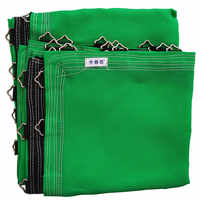 8FT colored waterproof pp mesh trampoline mat for kids trampoline bed