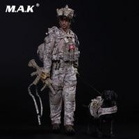 Коллекционная полный набор мини раз M006 1/6 Масштаб ВМС США SEAL Team Six DEVGRU с фигурку собаки аксессуар для подарка