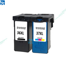 For Lexmark 36 37 Ink Cartridge For Lexmark 36 XL 37 XL Series x3650 x4650 x5650 x6650 x6675 Z2420 Printer LM36 LM37(China)