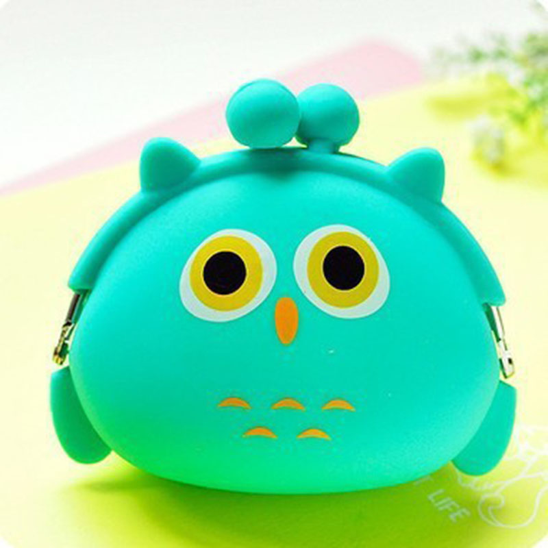 New Fashion Lovely Kawaii Candy Color Cartoon Animal Women Girls Wallet Multicolor Jelly Silicone Coin Bag Purse Kid Gift new fashion lovely kawaii candy color cartoon animal women girls wallet multicolor jelly silicone coin bag purse kid gift