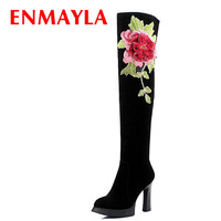 New Knight Boots New PU Autumn Black White Color Winter Boots Sexy Women Boots Size 34