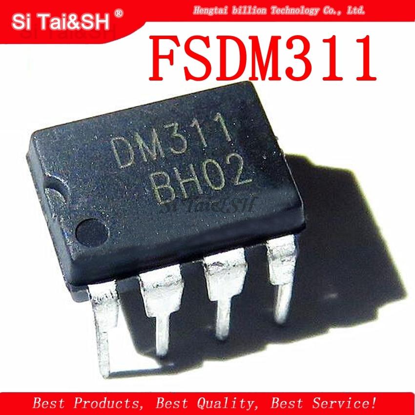 1PCS/lot FSDM311 DIP-8 DM311 DIP8 LCD Management Chip Switch IC