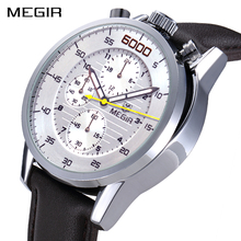 MEGIR Creative Fashion Sports Watches Men Military Waterproof Wristwatches Luxury Top Brand Quartz Watch Clock Relogio Masculino