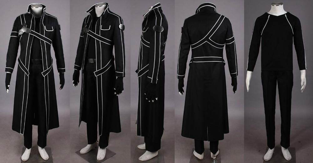3e63dc8d8f6d US $152.0 |Sword Art Online Kazuto Kirigaya Kirito COSPLAY Costume any size  on Aliexpress.com | Alibaba Group