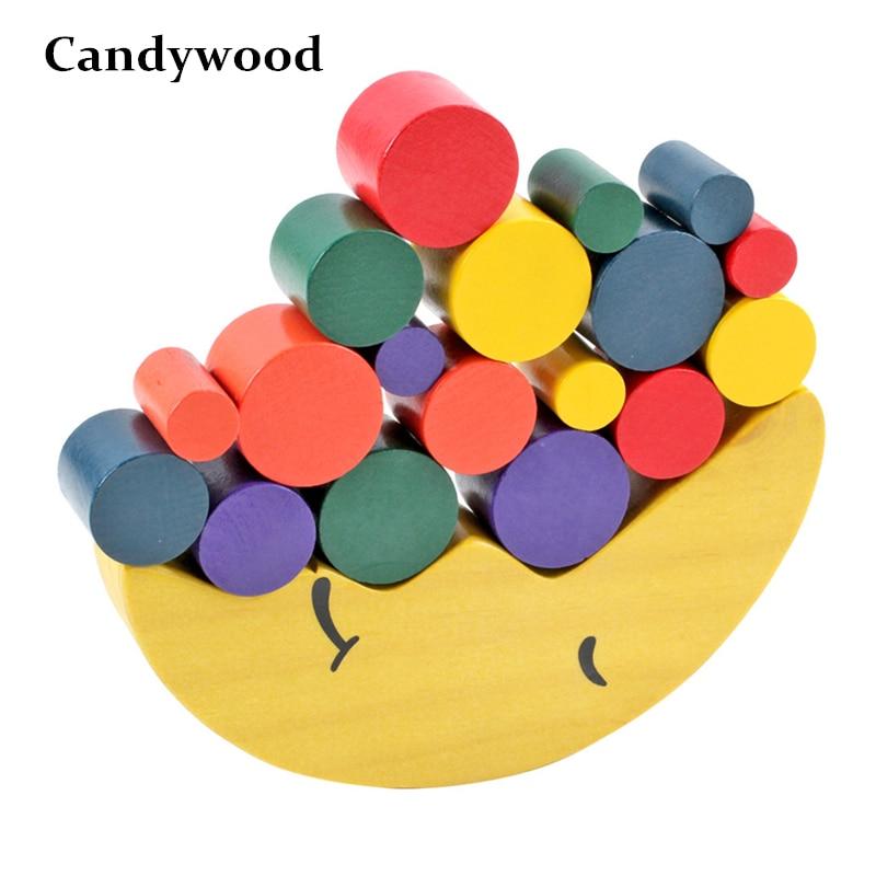 Kinder Früh Pädagogisches Spielzeug Holz Mond Balancing Pädagogisches Spielzeug Holz Bausteine Baby Kinder Balance Holz Spielzeug