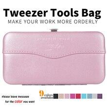 hot deal buy new professional false eyelash extension tool kit without tools eyelash extension tool storage box makeup eyelash tweezer